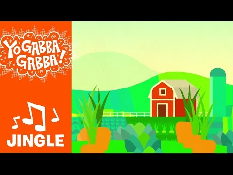"""Living on a Farm"" Jingle - The High Llamas - Yo Gabba Gabba!"