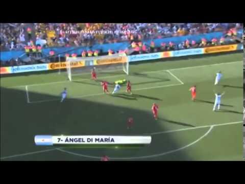 Pablo Giralt llora en el relato del gol de Di Maria a Suiza