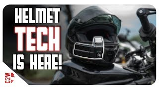 TECH for your MOTORCYCLE HELMET!! [First Fit - Nuviz]