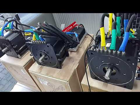 Repeat Golden Motor HPM-10KW and Kelly KLS7250D bench test