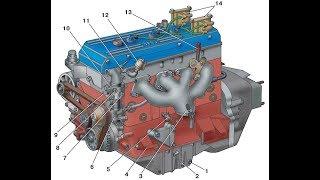 Ремонт двигателя ЗМЗ 406 (часть 2)