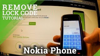 Remove Lock Code in Nokia Phone - factory reset with forgotten security code