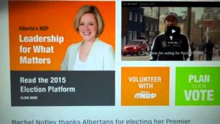 Alberta Ndp 2015 Platform: The Morning After.