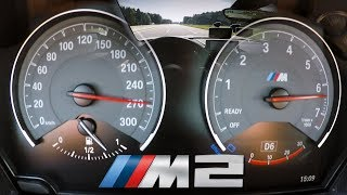 BMW M2 (0-270km/h) TOP SPEED, Acceleration TEST✔