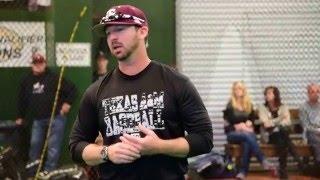 Assistant Baseball Coach Justin Seely Texas A&M University