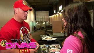 Brie Bella talks to John Cena about the tension with Nikki Bella: Total Divas, January 4, 2015