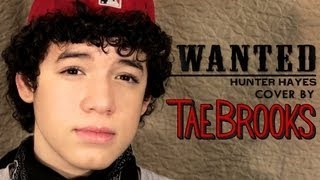 Me Singing - Hunter Hayes - Wanted - Cover by Tae Brooks - (Remix BeatsByiTALY) +NEW SINGLE!