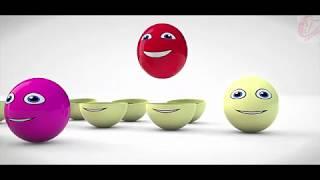 ÇOCUKLAR ve ÇOCUKLAR İÇİN CT KARİKATÜR----Renk Fil Hayvan V Sürpriz Yumurta Meyve Karikatür !!!