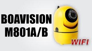 BOAVISION M801A/B - Mini IP security camera / 720p HD camera / Two-way audio