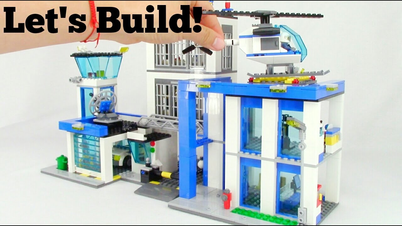 Lego City Police Station 60047 Lets Build Youtube