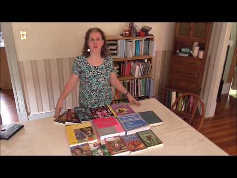 '17 Used Homeschool Curriculum Book Haul