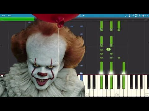 IT (2017) - The Pennywise Dance - Piano Tutorial