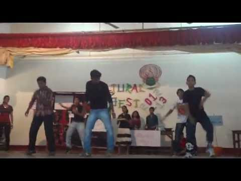 Yellow House Flash Mob - MTRS Cultural Fest 2012-13