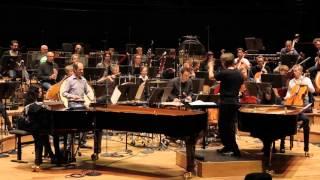 Concerto pour 2 pianos, percussion et orchestre, Bartók. Dir. Esa-Pekka Salonen