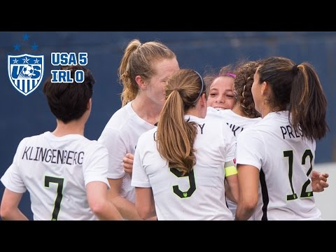 WNT vs. Republic of Ireland: Highlights - Jan. 23, 2016