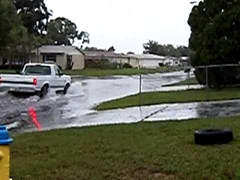 Tropical Storm Debby 2012 Flooding, Port Richey, FL