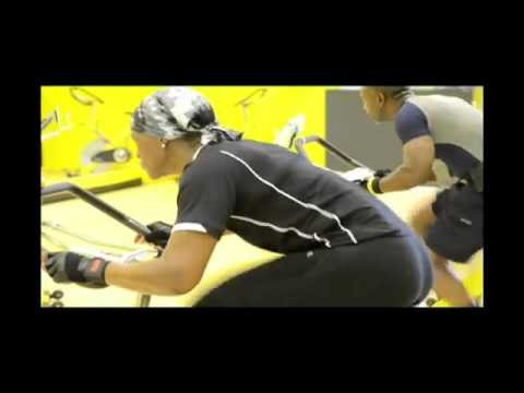 Spinning Aerobics class - Fitness 4 Less Gym