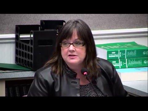 Regular Commission Meeting - April 22, 2014