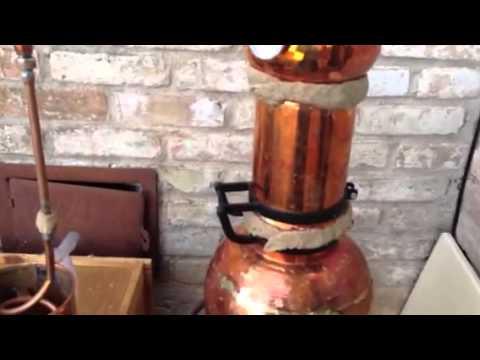 Prepping an Alembic Distiller