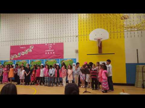 Bellerive elementary school St Louis MO, Missouri night 2017