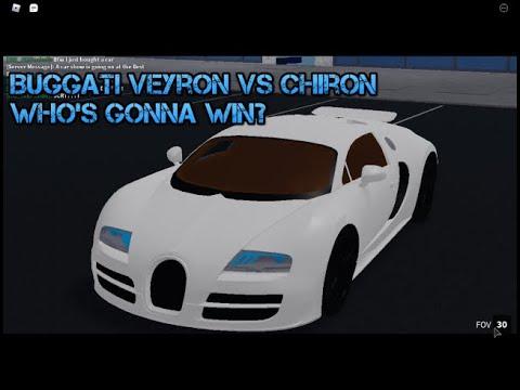 Bugatti chiron vs buggati veyron - roblox vehicle ...
