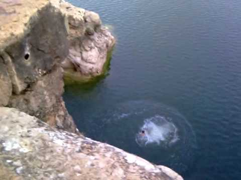 Cliff Jump Pace Bend Park Youtube Balcones canyonlands national wildlife refuge 17 km. youtube