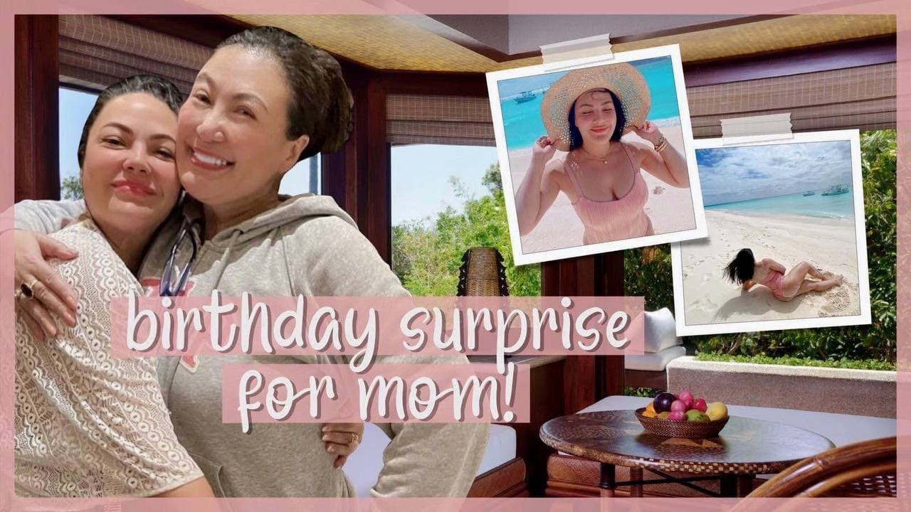 BIRTHDAY SURPRISE FOR MOM | The KC Diaries