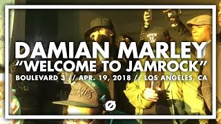 Damian Marley Performing Welcome to Jamrock on 4/20 Eve