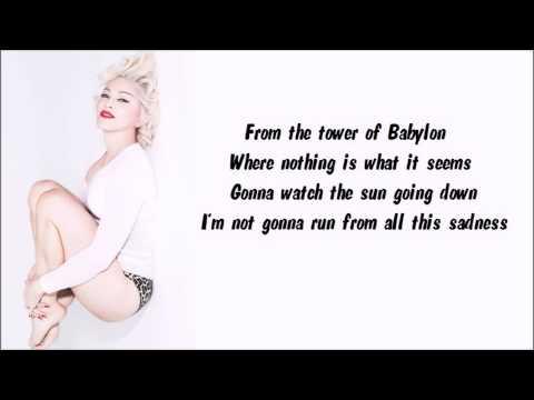 Madonna - Wash All Over Me Karaoke / Instrumental with lyrics on screen