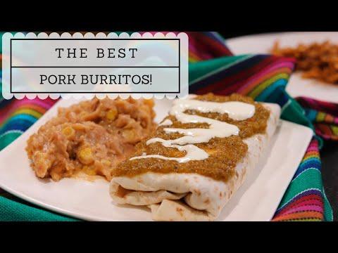 The Best Pork Burritos!