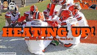 NFL Week 14| Cleveland Browns vs. Panthers Recap