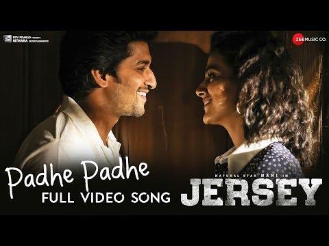 Padhe Padhe Full Video  Jersey  Nani & Shraddha Srinath  Anirudh Ravichander