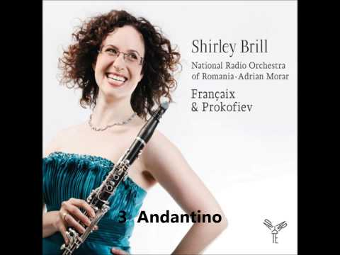 Francaix  Clarinet Concerto