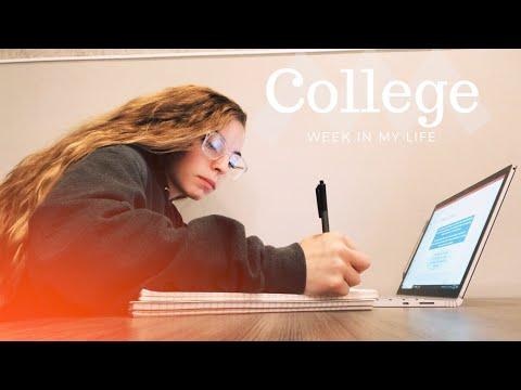 College Week In My Life: School, Work, Baseball Games