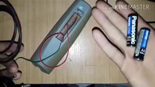 Aprenda a fazer um Carregador de pilhas comum caseiro