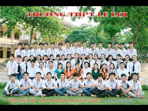 A10 K51 2010   2013 THPT Lê Lợi, Thọ Xuân, Thanh Hóa