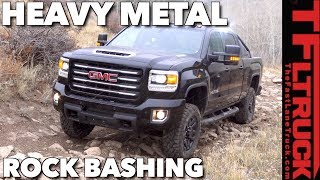 Is This The Most Off-Road Worthy HD Diesel Truck? GMC Sierra HD vs Cliffhanger 2.0