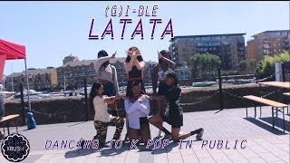 [K-POP IN PUBLIC CHALLENGE] [KRUSH LDN] LATATA - (G)I-DLE DANCE COVER IN LONDON