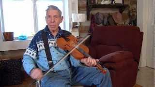 Seven Up / Old Sledge - Ralph Roberts, West Virginia old time fiddle