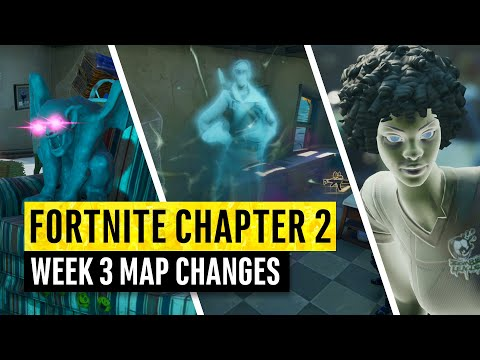 Fortnite | All Chapter 2 Map Updates And Hidden Secrets! WEEK 3