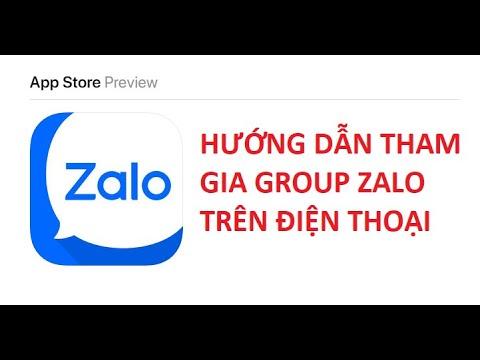 Hướng dẫn tham gia Group Zalo – Phần 2