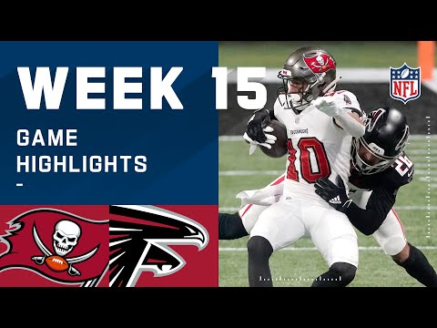 Buccaneers vs. Falcons Week 15 Highlights | NFL 2020