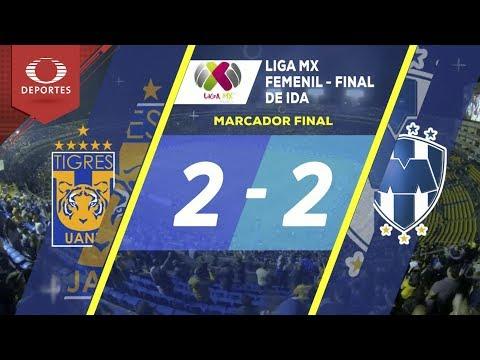 Resumen de Tigres vs Rayadas | Final Ida - Liga Mx femenil | Televisa Deportes
