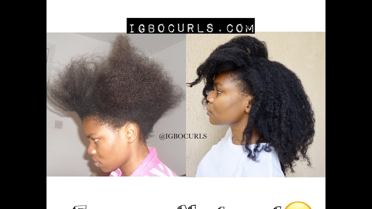 STEP BY STEP-How To Go or Return Natural From Relaxed or Damaged Hair to  Natural Hair
