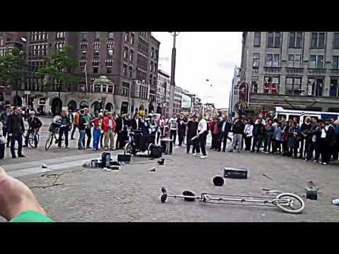 Amsterdam Street Performance Gone Wrong