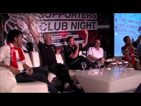 Fowler, Rush & Hamann sing 'You'll Never Walk Alone' in Indonesia