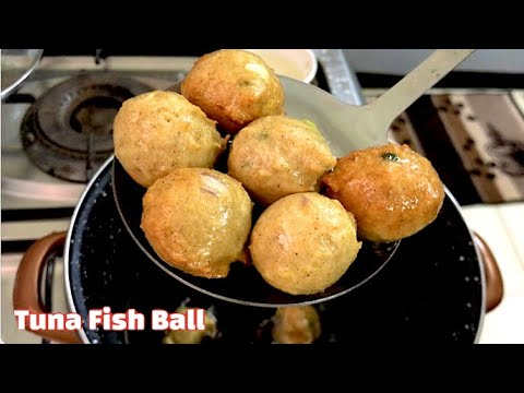 Tuna Fish Balls With Sweet And Spicy Sauce/ HOMEMADE FISH BALL RECIPE