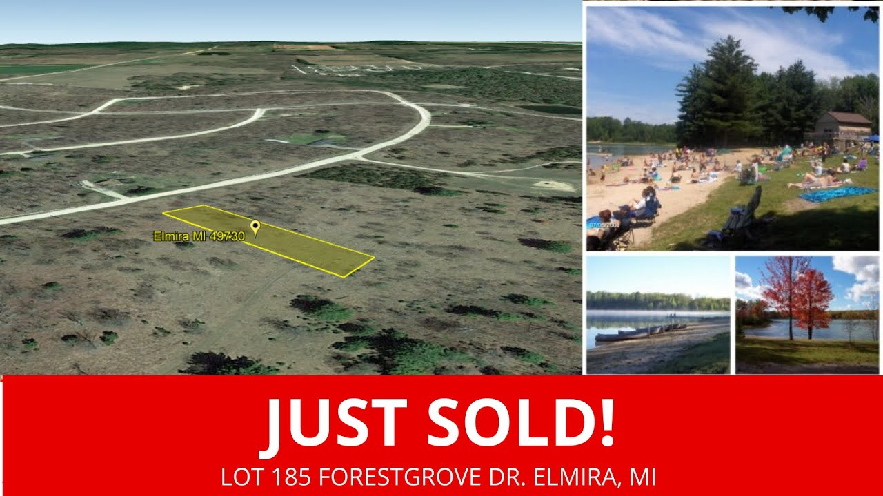 Lot 185 Forestgrove Dr.  Elmira, MI - Wholesale Land For Sale Michigan - www.WeSellNewYorkLand.com