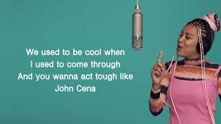 Sho Madjozi-JOHN CENA (Easy lyrics)