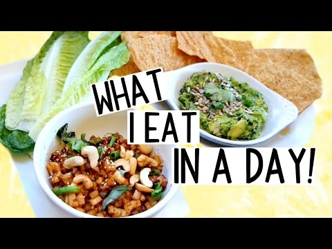 What I Eat in A Day! [HEALTHY & VEGAN On-The-Go]